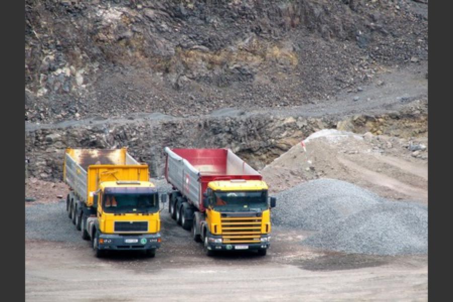 Transport de matériaux Pau
