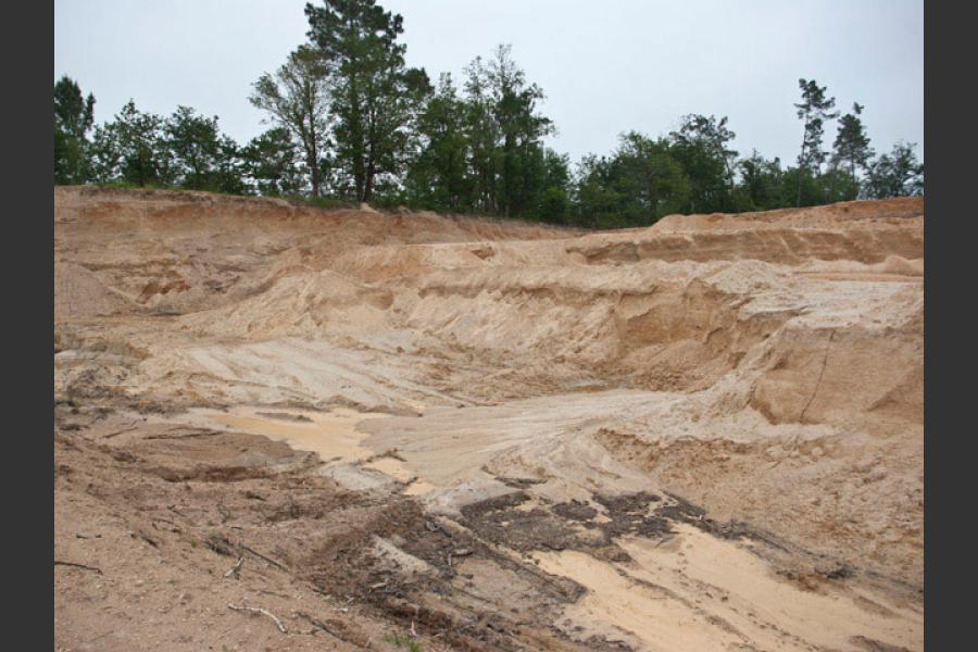 Carrières de sables Jonzac