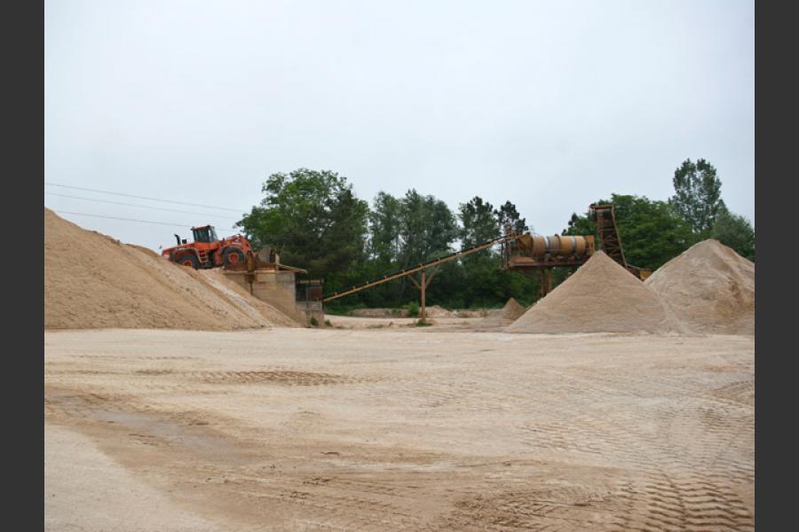 Carrières de sables Bordeaux