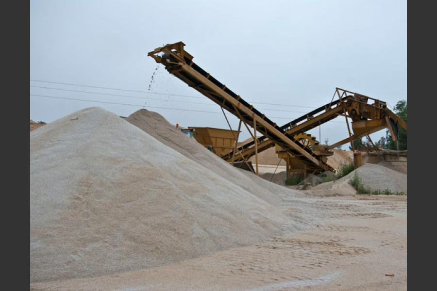 Carrières de sables Marseille