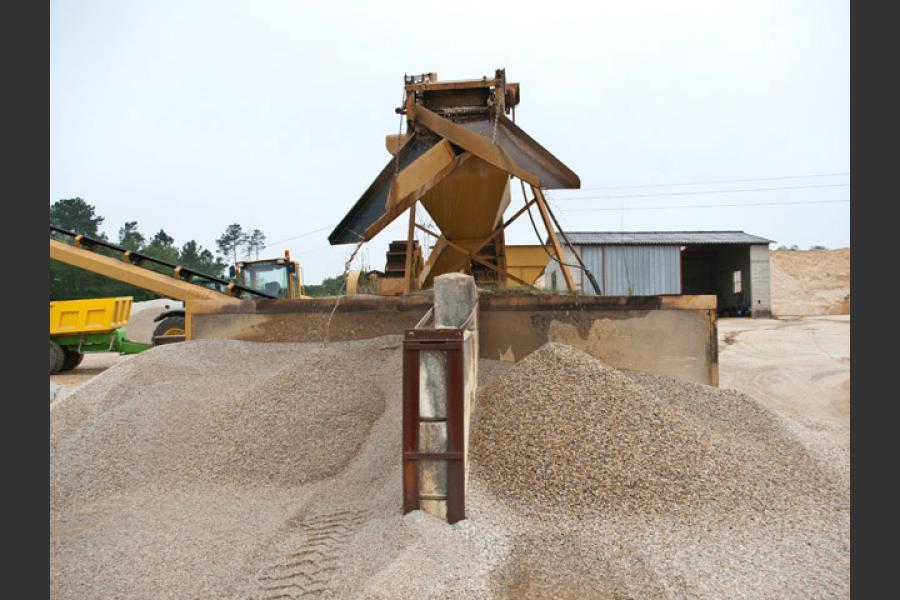 Carrières de sables La Roche Chalais