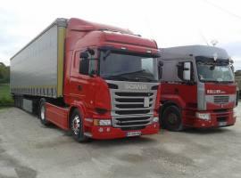 Rullier frères livraison transport routier